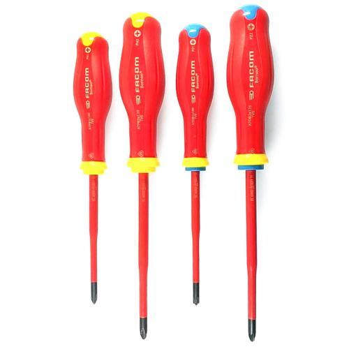 ATB.J4TVE - Set of Protwist® Borneo® screwdrivers with slim tip for mixed heads, PH1 - PH2, PZ1 - PZ2