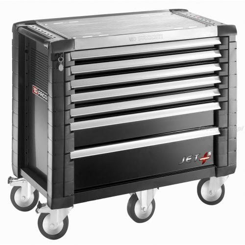 JET.7GM5 - ROLLCAB JETM5 7 DRAWERS BLACK
