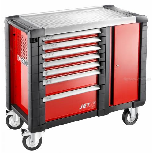 JET.T7M3 - MOBILE BENCH JETPLUS 7D RED