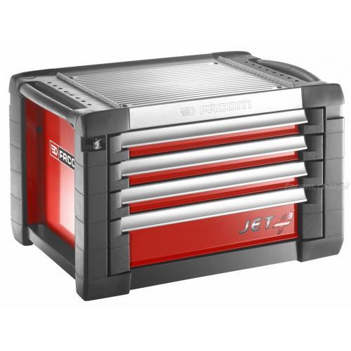 JET.C4M3 - skrzynka JET+, 4 szuflady, 3 moduły na szufladę