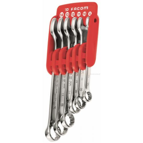 39.JP6 - 6 SPANNERS 39 IN PACKET HOLDER