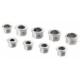 464.MKIT - Zestaw 9 pierścieni do klucza 464.M14X19, 8 - 17 mm