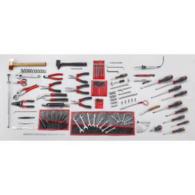 CU.AE51 - zestaw 115 narzędzi dla elektryka