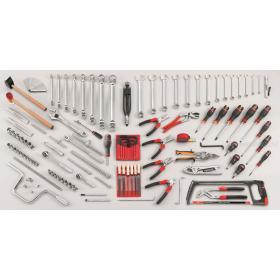 CM.AE22 - zestaw 115 narzędzi dla mechanika serwisowego