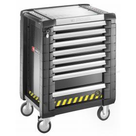 JETGXL.UAE50 - zestaw narzędzi dla mechanika silnikowego dostarczany w modułach piankowych i JET.8GM3S