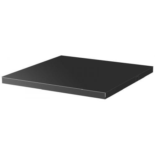 JLS2-PM1BS - Jetline+ metal worktop, 727 mm, black