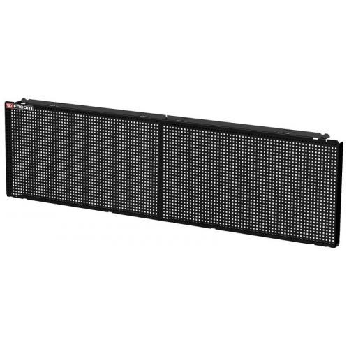 JLS2-PPAV2BS - Połowa panelu do zawieszenia na ścianie Jetline+, 2 moduły, czarny