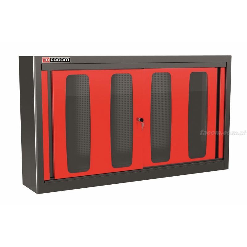 MHDPV - szafka wysoka Jetline - podwójna z drzwiami przeszklonymi