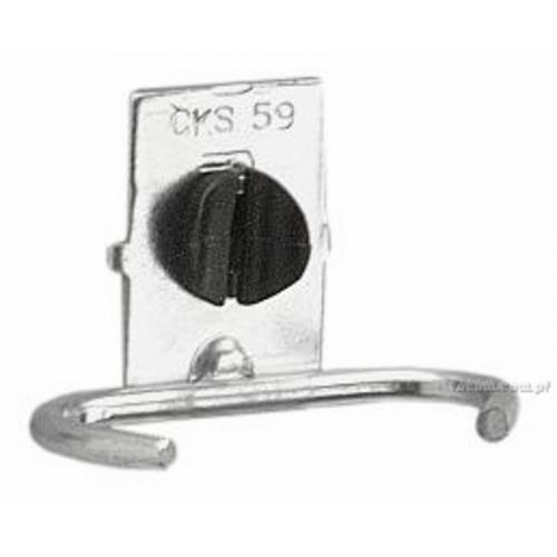 CKS.59A - zaczep pojedynczy do kluczy płaskich