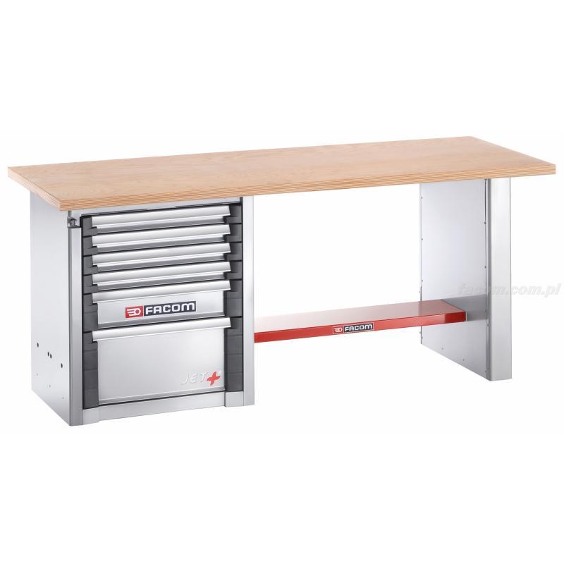 2000.AB1M3 - stół warsztatowy do dużych obciążeń 2 m - 6 szuflad