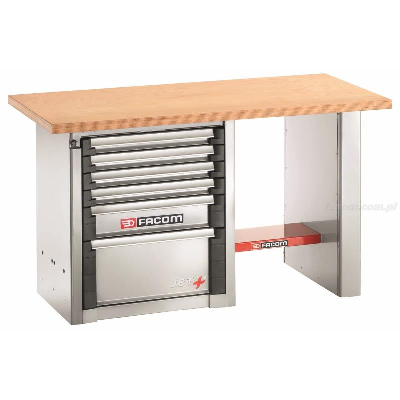 1500.AB1M3 - stół warsztatowy do dużych obciążeń 1,5 m - 6 szuflad