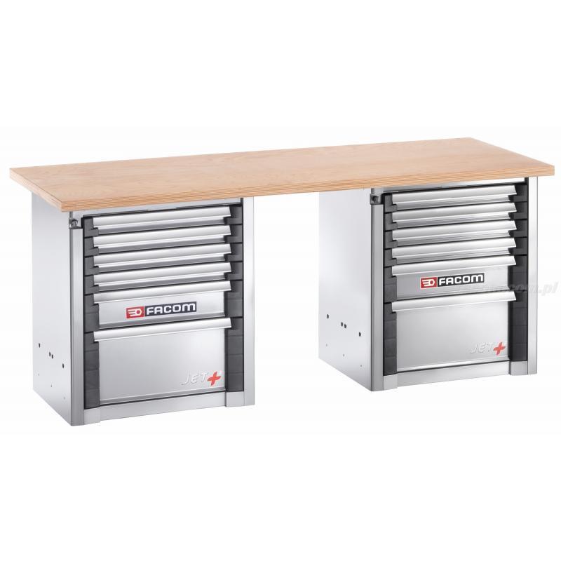 2000.BB1M3 - stół warsztatowy do dużych obciążeń 2 m - 12 szuflad
