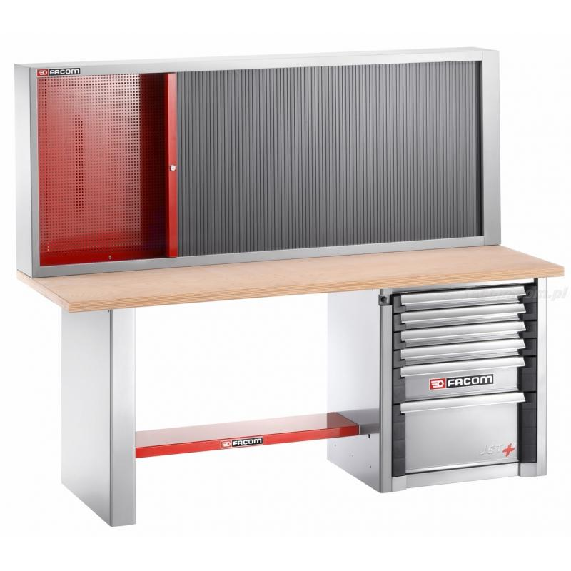 2000.AB32M3 - stół warsztatowy do dużych obciążeń 2 m - 6 szuflad i szafa 2210