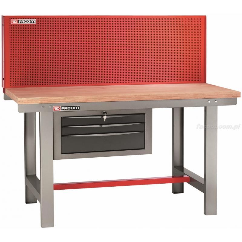 2245.PVAT3 - stół warsztatowy do utrzymania ruchu z panelem pionowym 1,5 m