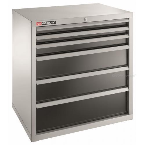 2936B - szafka przemysłowa do dużych obciążeń z 6 szufladami