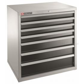 2937B - szafka przemysłowa do dużych obciążeń z 7 szufladami