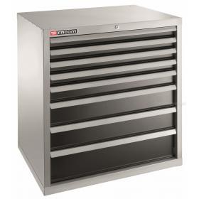 2938B - szafka przemysłowa do dużych obciążeń z 8 szufladami