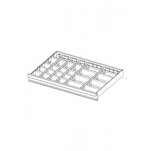 2930.C2 - zestaw 27 przegródek do szuflad 75 mm