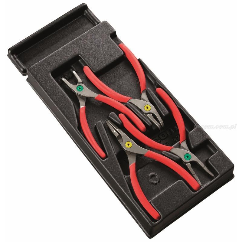 MOD.PC - moduł 4 szczypiec zamykanych/otwieranych do pierścieni osadczych ze szczękami prostymi i zagiętymi
