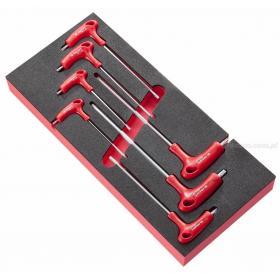 MODM.89TX - Moduł kluczy trzpieniowych TORX® na wkładce piankowej