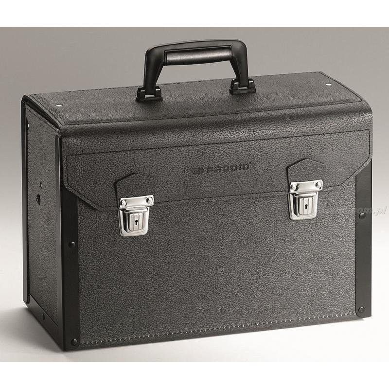 BV.5A - walizka skórzana z szufladami
