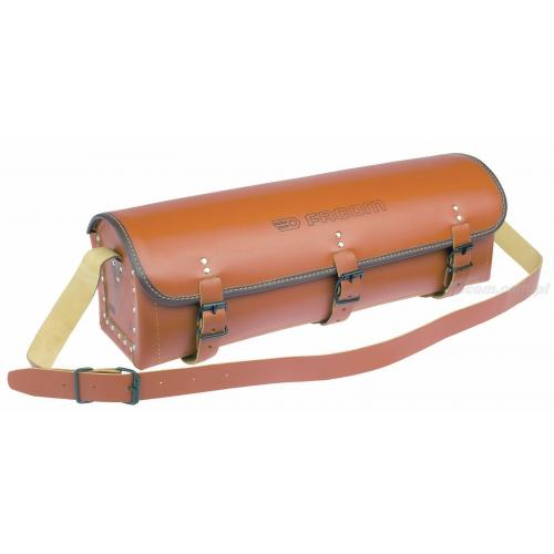"""BV.105 - torba skórzana z paskiem, wzmocniona """"dla hydraulika"""""""