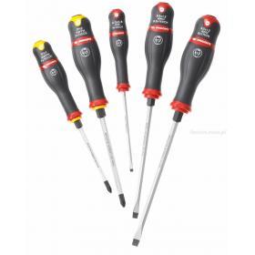 AWCK.J5 - zestaw wkrętaków PROTWIST® SHOCK do śrub z rowkiem i Phillips, 4 - 8 mm i PH1 - PH2