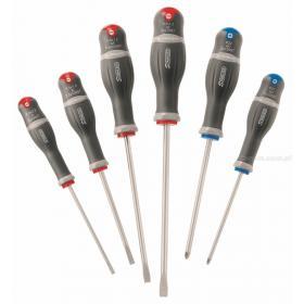 ADST.J6 - zestaw wkrętaków PROTWIST® INOX do śrub z rowkiem i Pozidriv, 4 - 8 mm i PZ1 - PZ2