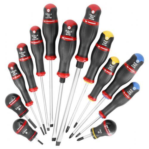 ANWH.J13 - zestaw wkrętaków Protwist® do śrub z rowkiem i śrub krzyżakowych Phillips i POZIDRIV