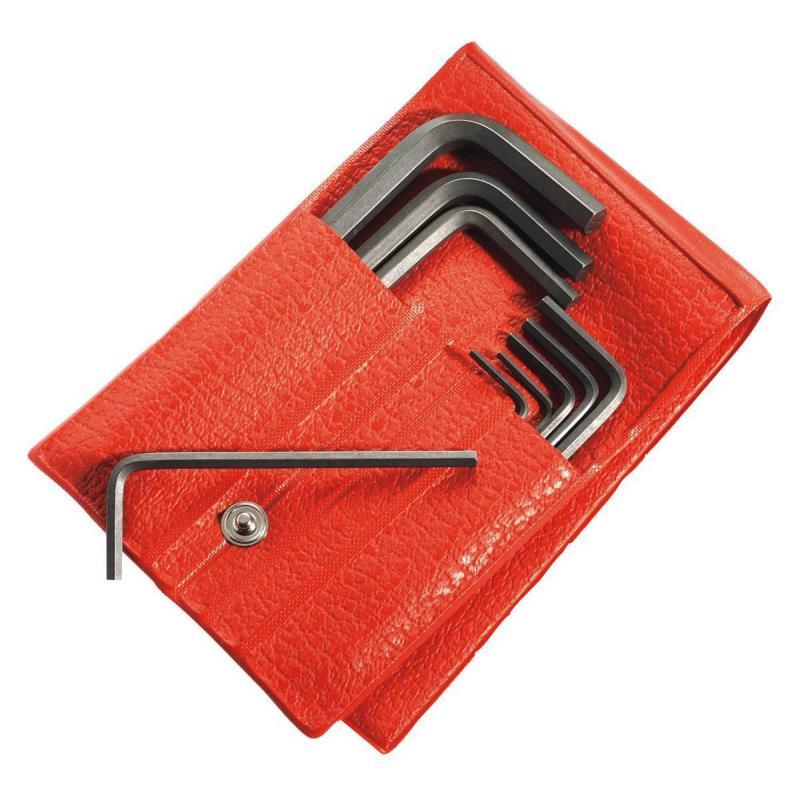 82H.JE10 – zestaw kluczy trzpieniowych 6-kątnych, 0,9 - 6 mm