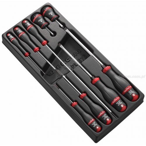 MOD.A4 - Moduł 9 wkrętaków Protwist® do śrub z rowkiem, 2,5 - 8 mm