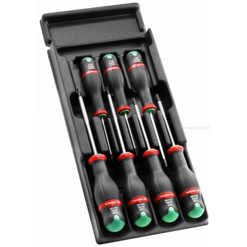 MOD.ANXR - Moduł 7 wkrętaków Protwist® do śrub Resistorx®, TT10 - TT40