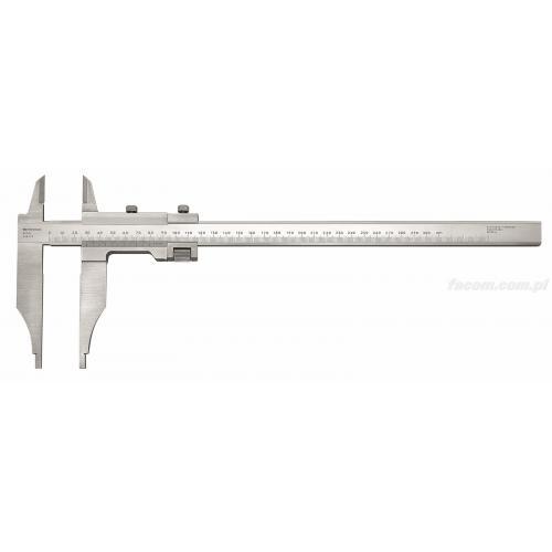 805.S - Suwmiarka mechaniczna warsztatowa - dokładność 1/50, 300 mm