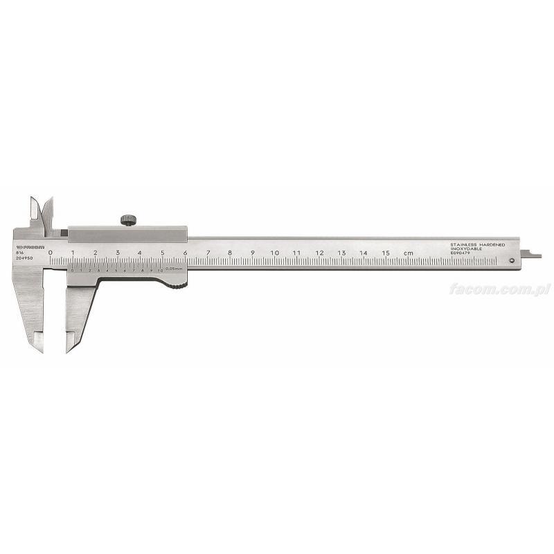 Chwalebne FACOM 816 - Suwmiarka uniwersalna - dokładność 1/20, 150 mm ✓ PG27