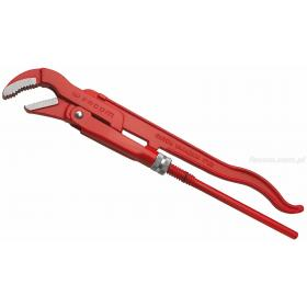 120A.1'1/2 - klucz do rur z główką odchyloną pod kątem 45 stopni, 49 mm
