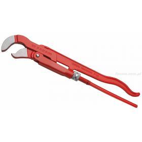 121A.1'1/2 - klucz do rur z główką odchyloną pod kątem 45 stopni, szczęki S, 49 mm