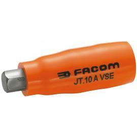 "JT.AVSE - VSE series 1000 Volt insulated male 6-point 3/8"" bit sockets, 4 - 10 mm"