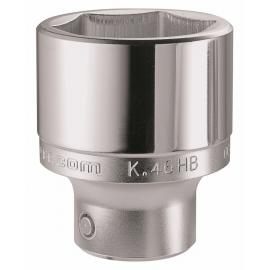 "K.HB 3/4"" drive metric 6-point sockets, 19 - 55 mm"