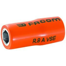 "R.AVSE - 1,000 Volt insulated 6-point 1/4"" sockets"