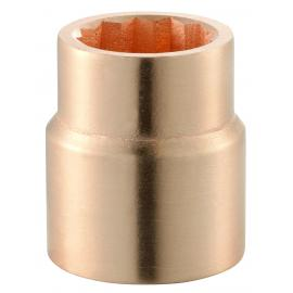 "M.SR - non sparking 1"" inch 12-point sockets, 1'1/16"" - 3"""