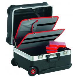 Seria BV.61 - walizka na kółkach z rozkładanym wózkiem, 550 x 440 x 365 mm