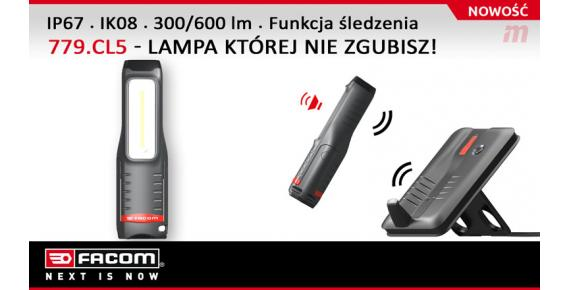 Nowa lampa inspekcyjna 779.CL5 z technologią ''Find My Light''