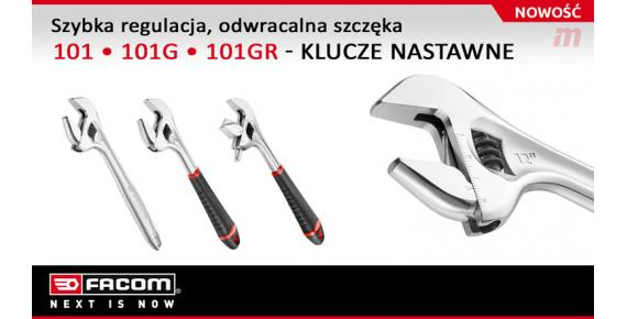 NEW: Adjustable wrenches: 101, 101.G, 101.GR
